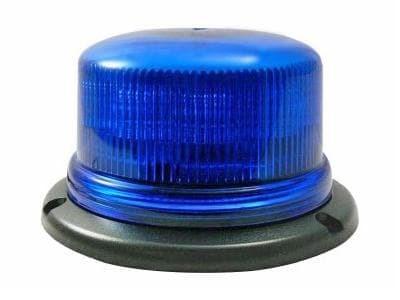 Проблесковый Маяк 12-24В. Низкий (Синий)