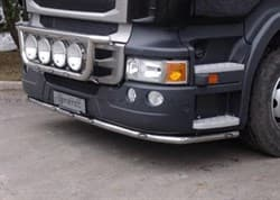 Защита Передняя, High Skirt, S.Mb, Led Scania R Serie 04-16 - фото 5327