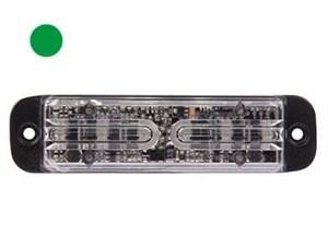 Строб вспышка ELE-6Хled зелёный 370