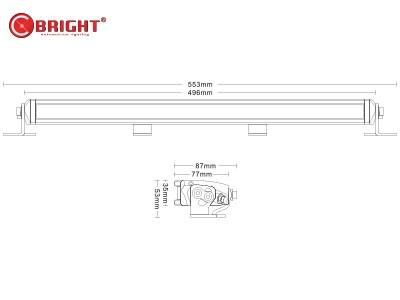 Светодиодная балка C-BRIGHT 120ВТ - фото 16740