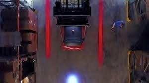 Светодиодная фара для погрузчиков ELE Red Line - фото 5615