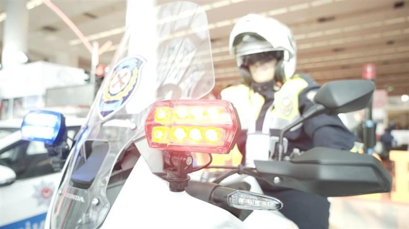 Фара Вспышка MiniBLINK (передняя) - фото 6193
