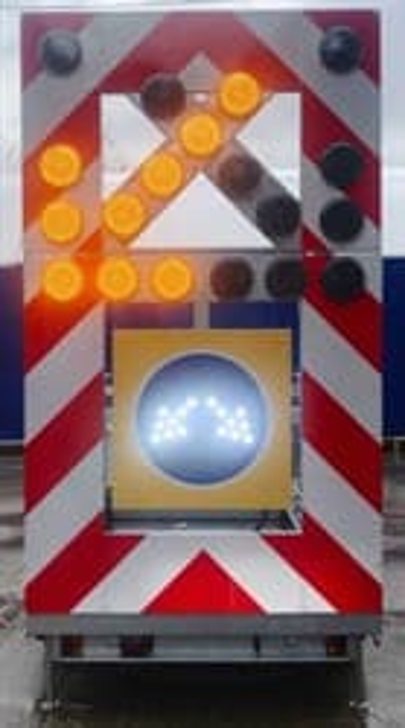 Передвижной заградительный знак (исполнение В) - фото 6617