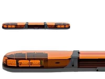 Проблесковая панель ECCO Led 12-24В 1000 мм (желтая) - фото 7805