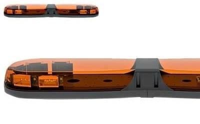 Проблесковая панель ECCO Led 12-24В 770 мм (желтая) - фото 7823