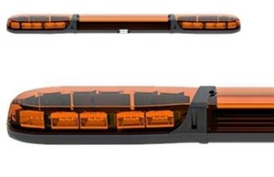 Проблесковая панель ECCO Led 12-24В 1250 мм (желтая) - фото 7838