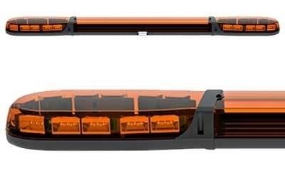 Проблесковая панель ECCO Led 12-24В 1500 мм (желтая) - фото 7857