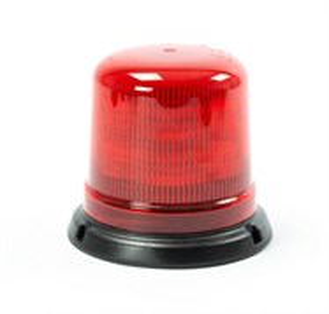 Проблесковый маяк AXIXTECH 12-24В 128x142мм Красный (крепеж на винтах)
