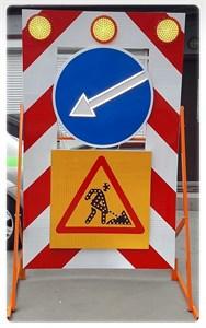 Передвижной заградительный знак (Исполнение А)