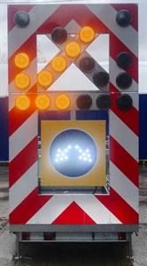 Передвижной заградительный знак (исполнение В)