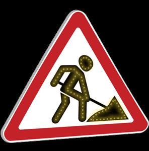 Импульсный знак 1.25 III-типоразмер