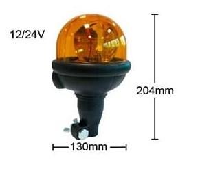 Проблесковый галогеновый маяк ECCO 12/24V-H1