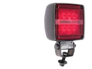 Светодиодная Фара Nordic Kl1002 Красный Свет